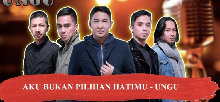 AKU BUKAN PILIHAN HATIMU  – UNGU Karaoke instrumental no vocal karaoke party indonesia