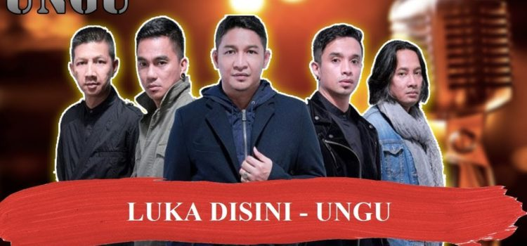 LUKA DISINI  – UNGU Karaoke no vocal indonesia